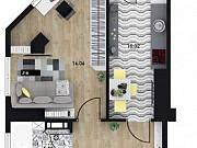 1-комнатная квартира, 42 м², 10/16 эт. Севастополь