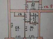 3-комнатная квартира, 58 м², 1/2 эт. Кромы