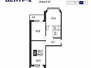 1-комнатная квартира, 40 м², 2/17 эт. Железнодорожный