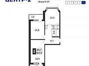 1-комнатная квартира, 40 м², 17/17 эт. Железнодорожный