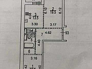2-комнатная квартира, 65 м², 8/9 эт. Московский