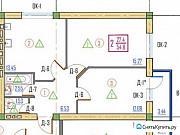 2-комнатная квартира, 55 м², 2/7 эт. Нальчик