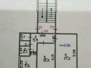 2-комнатная квартира, 44 м², 1/5 эт. Абакан