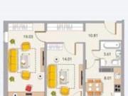 2-комнатная квартира, 60 м², 7/14 эт. Петрозаводск