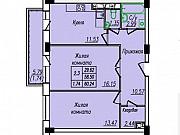 2-комнатная квартира, 60 м², 7/17 эт. Абакан