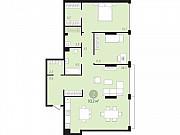 2-комнатная квартира, 93 м², 2/16 эт. Тюмень
