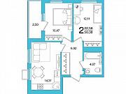 2-комнатная квартира, 50 м², 17/26 эт. Уфа