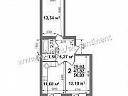 2-комнатная квартира, 52 м², 2/5 эт. Ковров