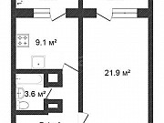1-комнатная квартира, 46 м², 5/9 эт. Ярославль