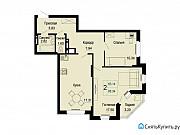 2-комнатная квартира, 66 м², 18/24 эт. Самара
