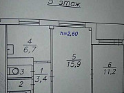 2-комнатная квартира, 40 м², 5/9 эт. Красноярск