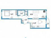2-комнатная квартира, 65 м², 19/19 эт. Санкт-Петербург