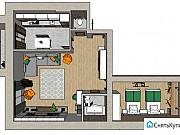 2-комнатная квартира, 70 м², 3/5 эт. Высокая Гора