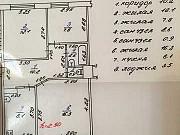 3-комнатная квартира, 58 м², 1/3 эт. Красный Сулин