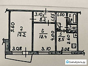 2-комнатная квартира, 51.3 м², 4/9 эт. Орёл