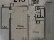 1-комнатная квартира, 39.9 м², 10/15 эт. Якутск