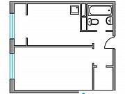 1-комнатная квартира, 35.8 м², 2/8 эт. Красногорск