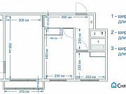 3-комнатная квартира, 57.4 м², 2/5 эт. Томск