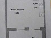 1-комнатная квартира, 37 м², 1/16 эт. Псков