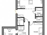 3-комнатная квартира, 96.8 м², 4/5 эт. Череповец