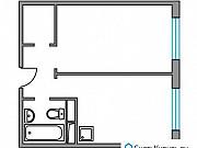 1-комнатная квартира, 32.3 м², 6/8 эт. Красногорск