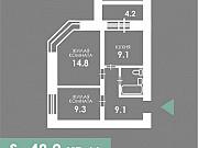 2-комнатная квартира, 50 м², 3/10 эт. Благовещенск