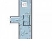 1-комнатная квартира, 50.9 м², 2/21 эт. Липецк