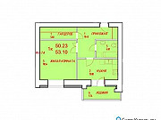1-комнатная квартира, 53.1 м², 9/12 эт. Северск