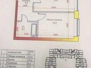 1-комнатная квартира, 44.6 м², 6/6 эт. Владикавказ
