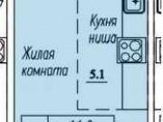 Студия, 26 м², 5/17 эт. Киров