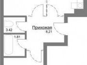2-комнатная квартира, 61.1 м², 8/10 эт. Ярославль