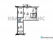 3-комнатная квартира, 58.3 м², 4/5 эт. Омск
