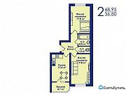 2-комнатная квартира, 69 м², 2/17 эт. Котельники