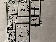 3-комнатная квартира, 57.3 м², 2/5 эт. Псков