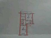 2-комнатная квартира, 48 м², 2/2 эт. Валдай
