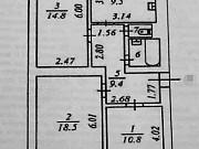 3-комнатная квартира, 68 м², 3/3 эт. Надым