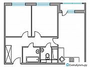 2-комнатная квартира, 49.8 м², 14/24 эт. Одинцово