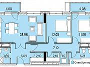 3-комнатная квартира, 85 м², 9/11 эт. Обнинск
