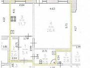 1-комнатная квартира, 53.3 м², 8/10 эт. Нижний Новгород