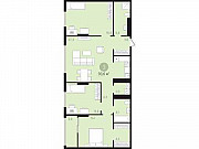 3-комнатная квартира, 93.7 м², 3/10 эт. Тюмень