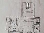 4-комнатная квартира, 75 м², 3/9 эт. Псков