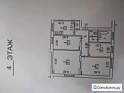 Комната 22 м² в 4-ком. кв., 4/5 эт. Москва