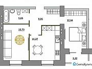 2-комнатная квартира, 58.9 м², 7/8 эт. Пенза