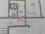 1-комнатная квартира, 34 м², 1/5 эт. Вихоревка