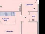 3-комнатная квартира, 73 м², 11/18 эт. Новосибирск
