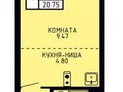 Студия, 20.8 м², 3/26 эт. Пермь