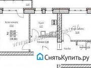 2-комнатная квартира, 57.2 м², 2/6 эт. Ярославль