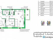 3-комнатная квартира, 57.2 м², 3/5 эт. Петрозаводск