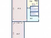 2-комнатная квартира, 44.6 м², 5/5 эт. Красноярск