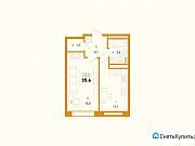 1-комнатная квартира, 35.6 м², 2/26 эт. Уфа